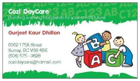 Cozi Care Day Care Surrey BC